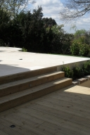 Decking with built-in lights