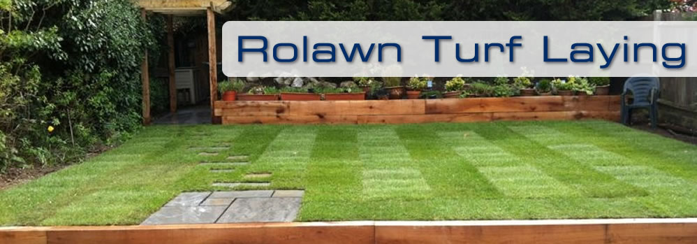 Rolawn Turf Laying